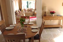 Dining Area & Lounge at Merryfields Barn