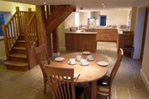 Merryfields Barn Kitchen & Dining Area